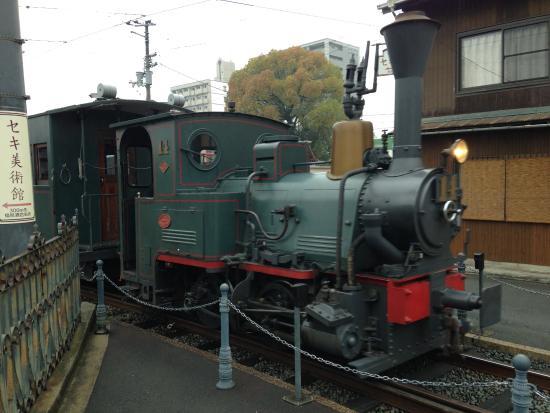 Dogo Onsengai: 可愛い坊ちゃん列車が見られます。