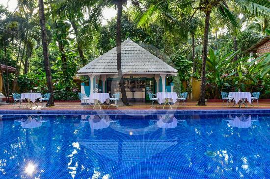 Anjuna, Indien: Pool Bar