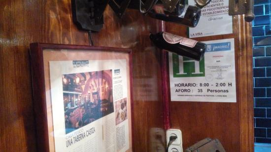Restaurante Casa Perico : interior