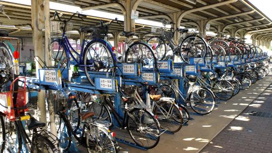 Matsuyama Ekimae Kanko Rental Cycle Port