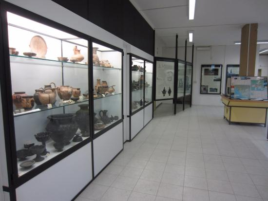 Museo Archeologico di Saturnia : vista del museo