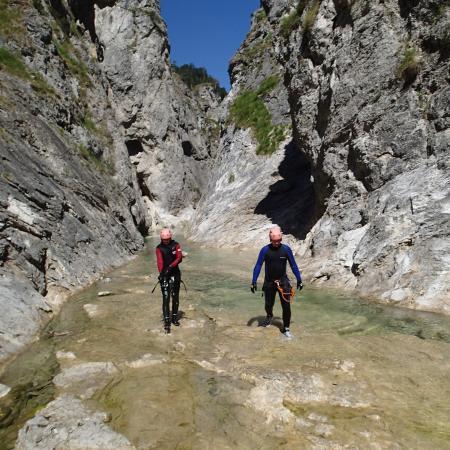 Ebenau, Austria: strubklammcanyoning