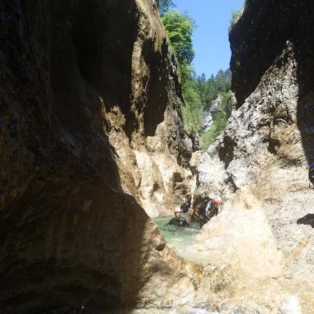 Ebenau, Austria: Canyoning