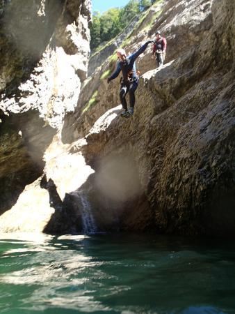 Ebenau, Austria: Canyoning#action