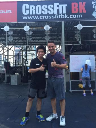 CrossFit Bangkok (CFBK): Amazing venue!! I enjoyed my visit a lot today with great company and a nice WOD! I have got my
