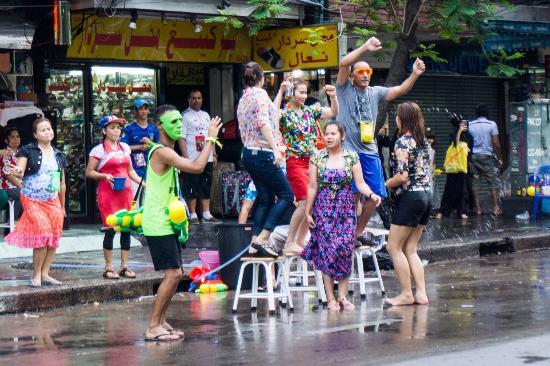 Songkran Festival Khao San Road