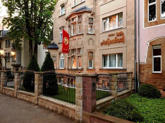 Hotel Villa Achenbach: Fassade