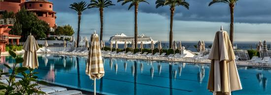 Monte Carlo Beach Olympic Size Pool At The Club