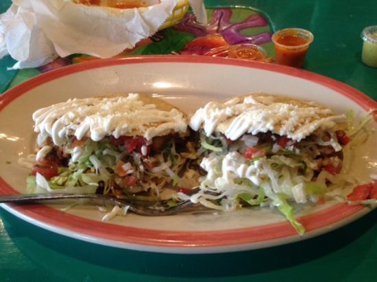 Chilangos Mexican Seafood Restaurant Chalupas