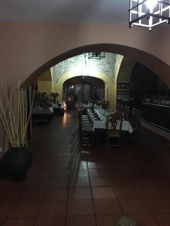 Casas de los Pinos, Espagne : Una de las zonas del comedor