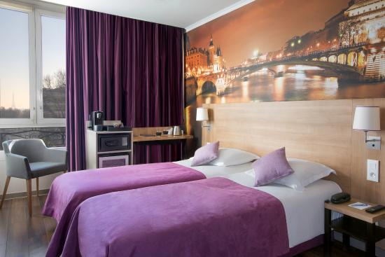 Best Western Rives de Paris La Defense : Twin Room