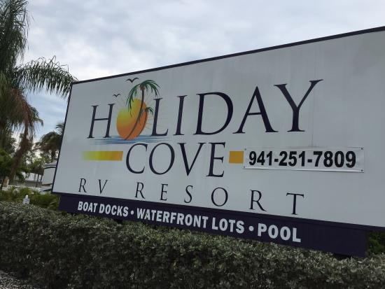 Holiday Cove RV Resort: Note new phone number for resort office: