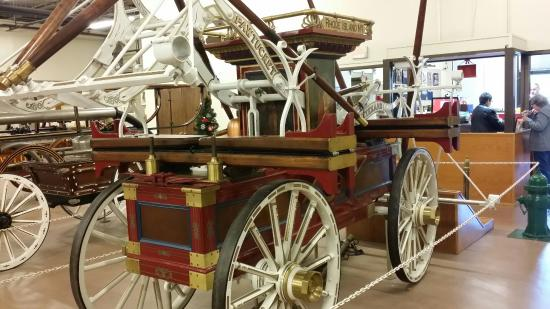 super old fire carriages picture of hall of flame museum of rh tripadvisor com