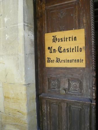 Uncastillo, İspanya: Casa donde se ubica el restaurante