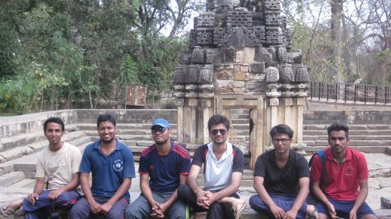 Rawatbhata, Indien: One of Shiva temples.