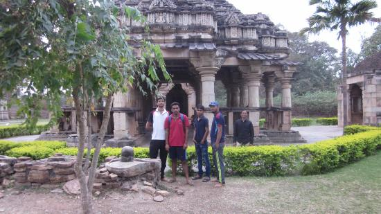 Intricately carved 10th century temples in the land of warriors