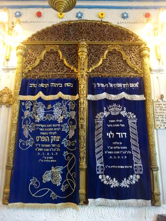 The Sephardic Synagogue of the Ari : One of the arks