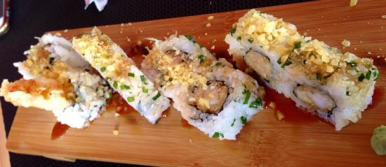 Cocina japonesa maravillosamente elaborada!