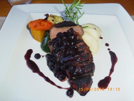 Kuils River, Sudáfrica: Venison Steak