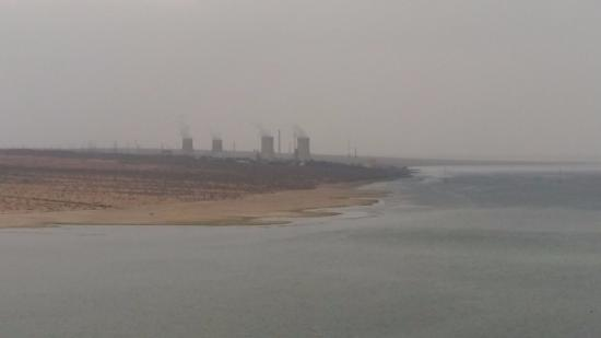 Rawatbhata, Indien: View of water resevior.