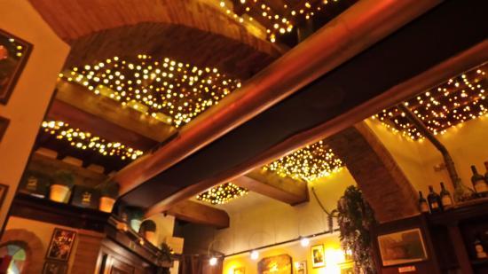 Ceiling Twinkle Lights: La Giostra: twinkle lights in ceiling!,Lighting