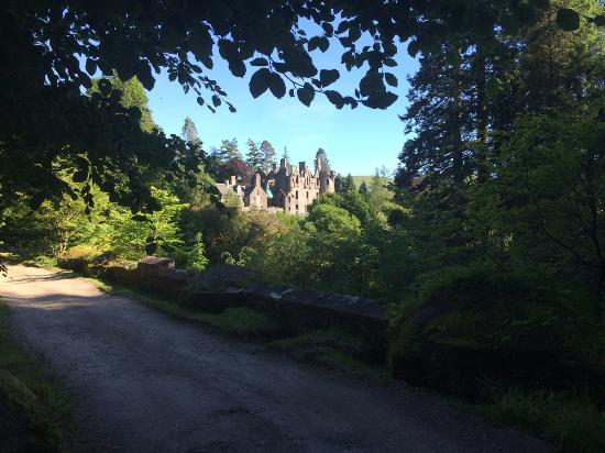Glendaruel, UK: B-listed Dunans Castle in June 2015