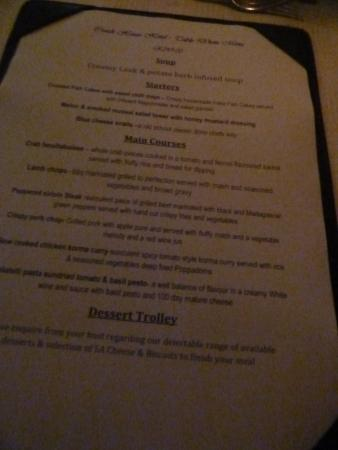 our menu divine picture of coach house hotel spa tzaneen rh tripadvisor co za