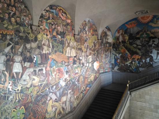 Diego rivera mural picture of murales de diego rivera en for Mural de rivera