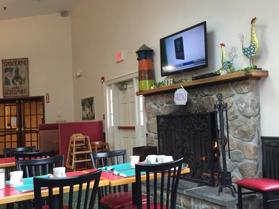 Persy's Place: Fireplace!