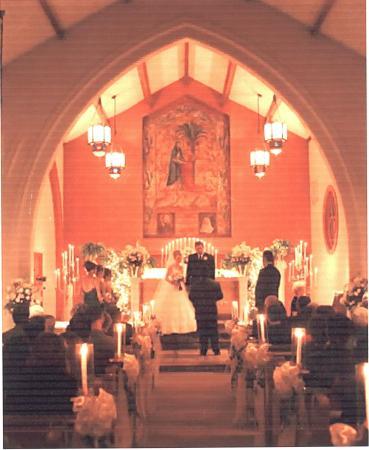 The Mansion at Elfindale Bed & Breakfast: Chapel Wedding