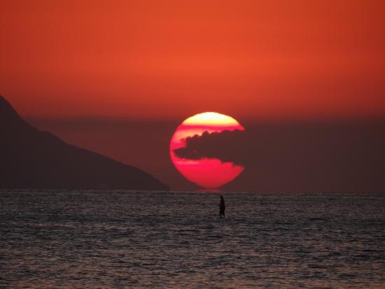 Praia de Maresias: Por do Sol em Maresias