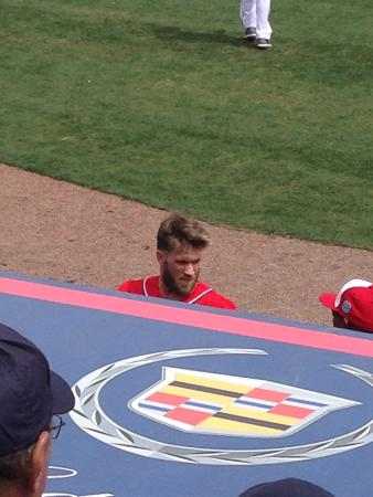 Space Coast Stadium: Hi Bryce!