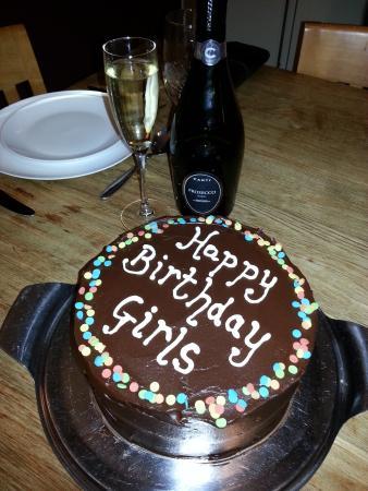 The Tea Shop Chocolate Ganache Birthday Cakes