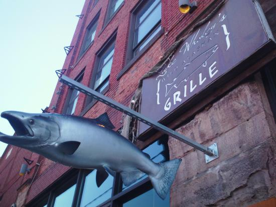 Luke Wholey's Wild Alaskan Grille: Outside Sign