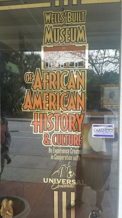 Wells' Built Museum of African American History: 20160325_124950_large.jpg