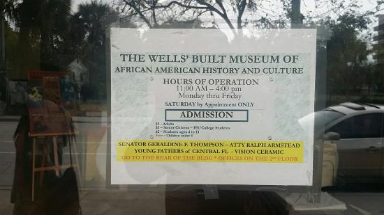 Wells' Built Museum of African American History: 20160325_124939_large.jpg