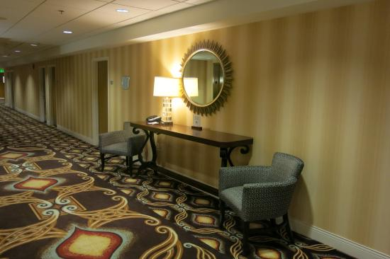 Doubletree by Hilton Detroit Downtown - Fort Shelby: Hall dos apartamentos