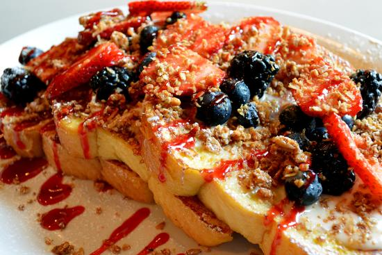 Egg Harbor Cafe: Summer in Italy French Toast