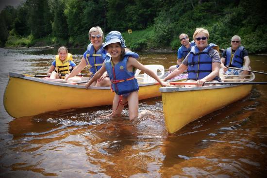Labelle, Canada: Descente de la rivière en famille! 12 km
