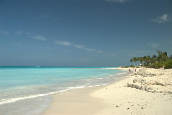 Grace Bay, parte dei suoi circa 7km: selvaggia e splendida!