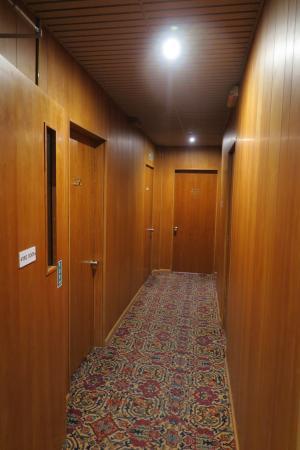Outside Room corridor outside room - picture of bristol hotel, gibraltar