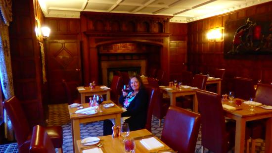 Otterburn Tower Country House Hotel: The Dining Room