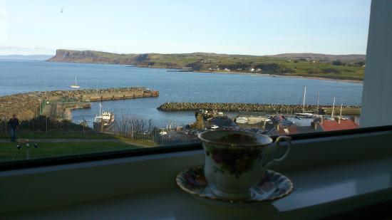 Ardaghmore Bed and Breakfast: Tomar un té con estas vistas, impagable
