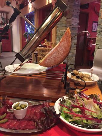 BON VENDREDI Raclette-savoyarde