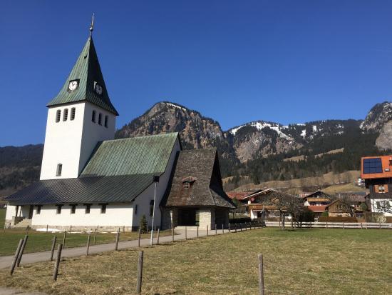 "Kirche St. Jodokus ""Unsere liebe Frau im Ostrachtal"""