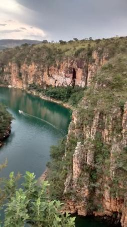 Mirante dos Canyons: canyon visto de cima