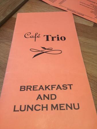 The amazing Cafe Trio- Lovely staff, amazing food!
