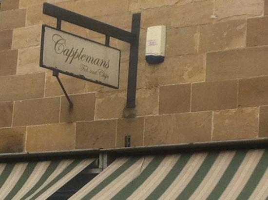 Capplemans Fish & Chips Restaurant : Sign