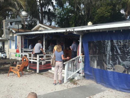outdoor patio bar and grill picture of boyle 39 s backyard palm harbor