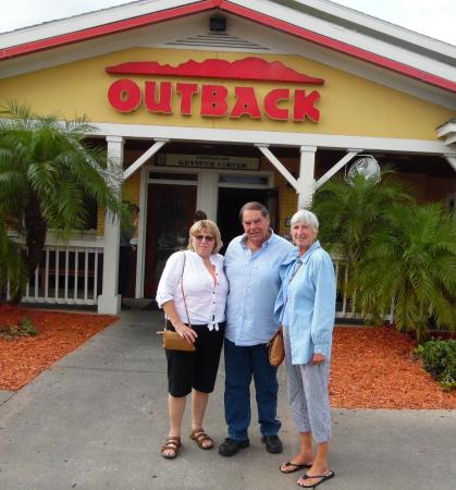 Sally, George and Marcia at Sebring Outback